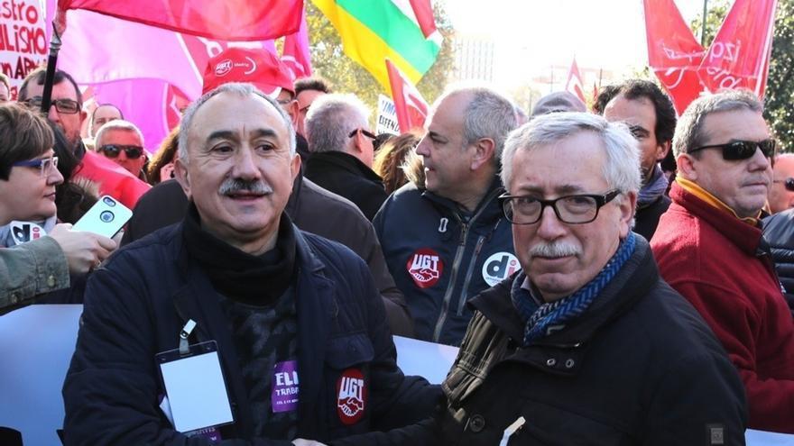 CC.OO. y UGT celebran hoy asambleas y concentraciones por toda España para pedir salarios dignos