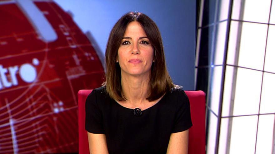 Mónica Sanz, en una reciente edición de Noticias Cuatro