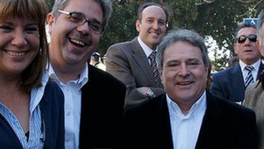 Amparo Mora, Juanjo Medina, Alfonso Rus y Emilio Llopis.