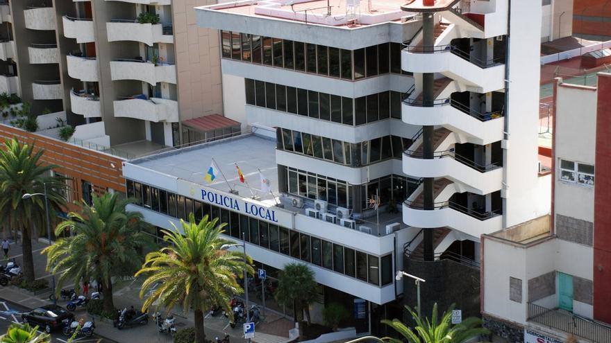 Policía Local de Santa Cruz de Tenerife.