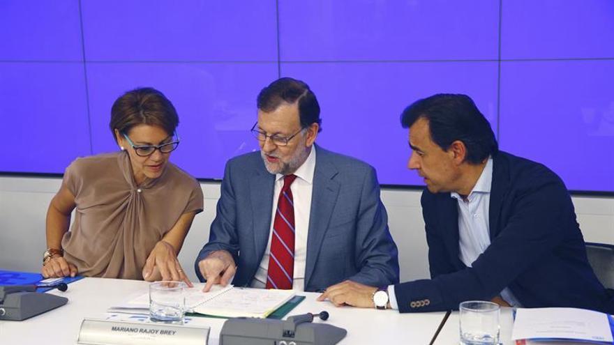 Rajoy subraya que no es el PP, sino España, la que necesita urgentemente un Gobierno