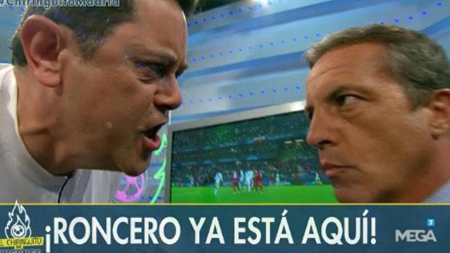 """Roncero, en 'El Chiringuito' tras la Supercopa: """"Soria, cambia de vida"""""""