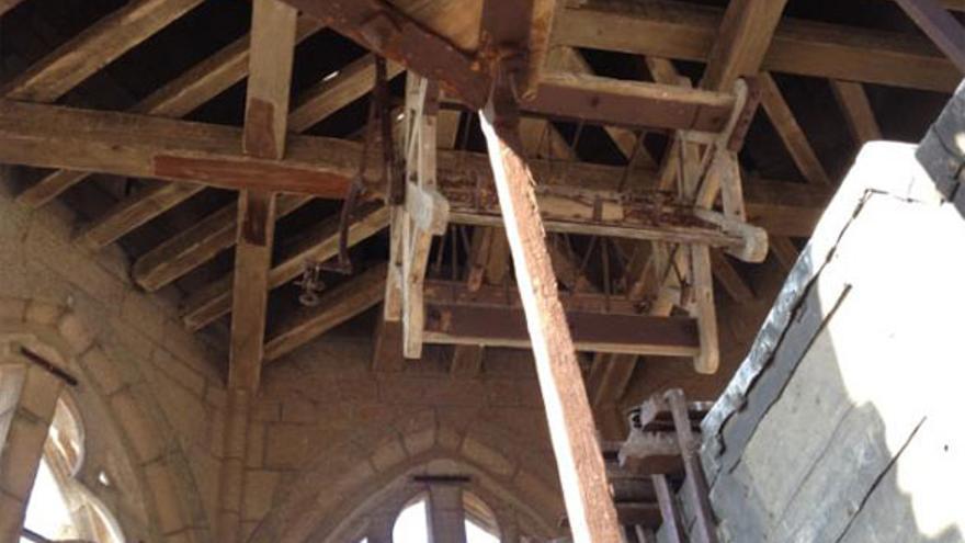 Matraca de la catedral de Toledo / Foto: Ayuntamiento