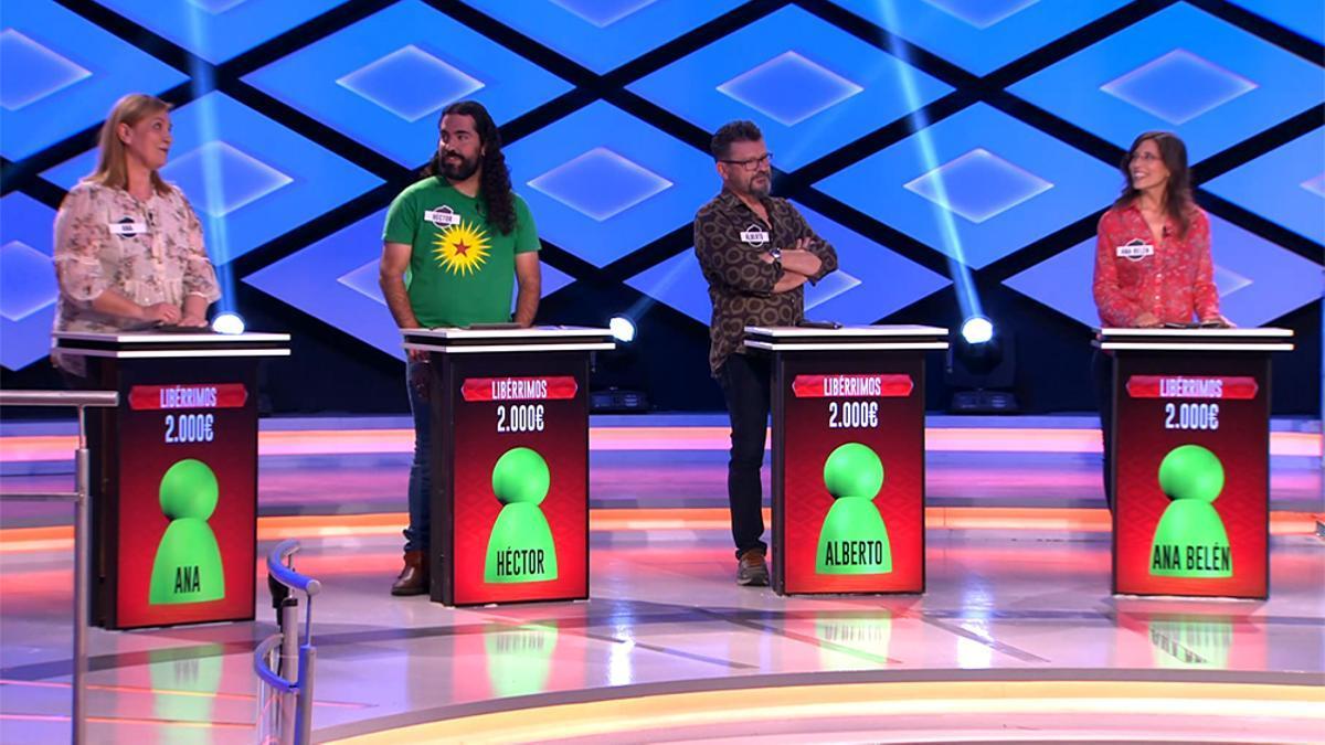 Imagen de los 'Libérrimos' en '¡Boom!'