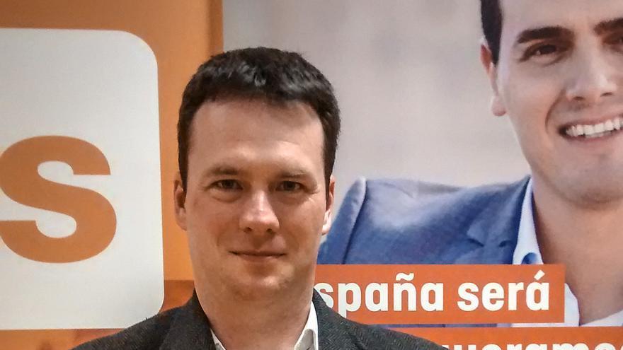 David González encabeza la candidatura de Ciudadanos en la capital de Cantabria.