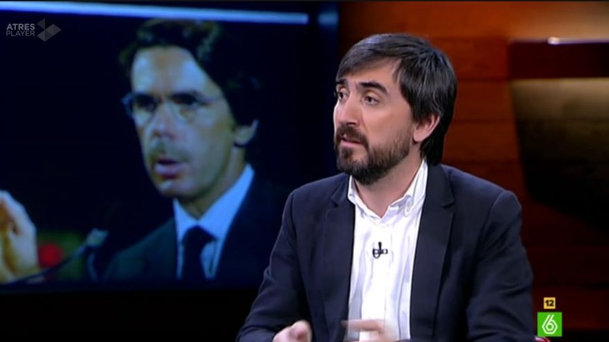 Ignacio Escolar en el Intermedio de La Sexta