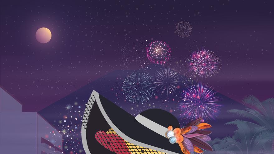 Cartel del 'Entierro de la sardina' del carnaval de Puntallana.