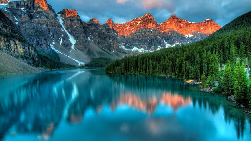 Amanecer en Moraine Lake. James Wheeler