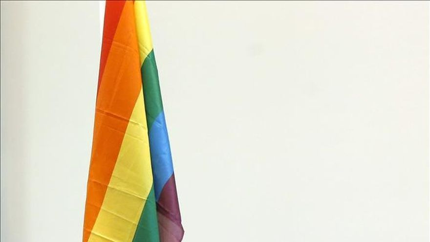 La bandera arco ris ondea orgullosa en el ayuntamiento - Casarse ayuntamiento madrid ...