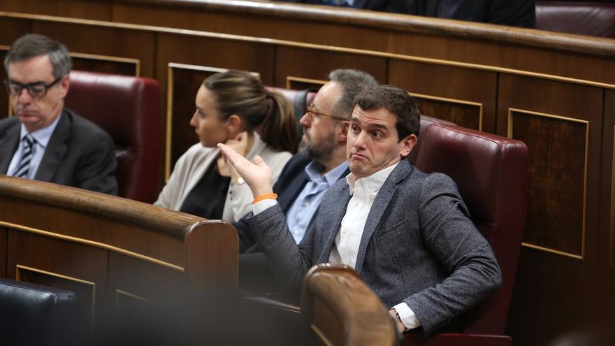 """Rivera denuncia una """"pinza"""" de PP y ERC para no votar en el Congreso la condena del rescate de las autopistas"""