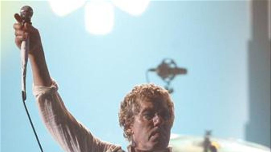 Roger Daltrey cantante de The Who
