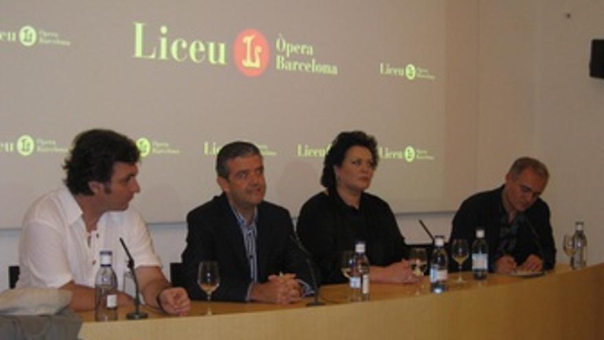 Ludovic Tézier, Renato Palumbo, Violeta Urmana Y Joan Matabosch