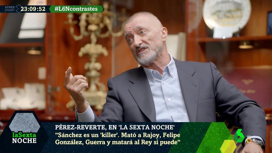 Pérez-Reverte en 'laSexta Noche'