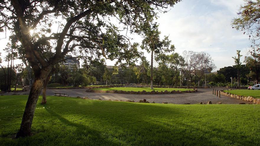 Imagen parcial del parque de La Granja, en Santa Cruz