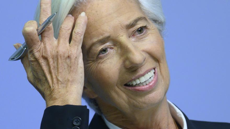 Christine Lagarde, presidenta del Banco Central Europeo/