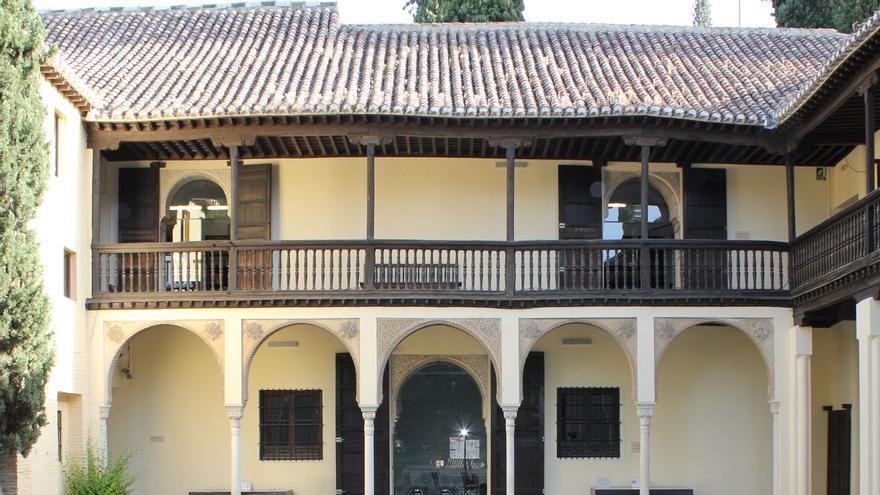 Fondo de la Casa del Chapiz, en Granada.