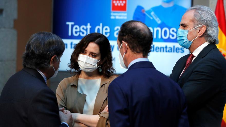 Madrid duda de la eficacia de confinar la región como plantea la Comisión Europea