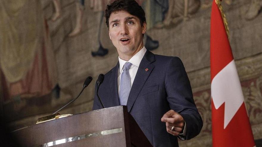 Trudeau y Varadkar tratan en Dublín el acuerdo comercial CETA