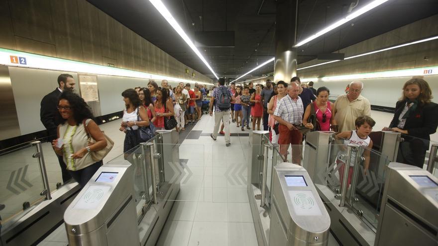 El metro de Málaga supera los 380.000 usuarios durante su primer mes de funcionamiento