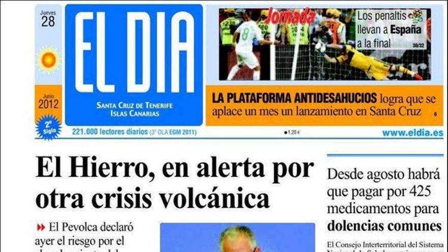 De las portadas del día (28/06/2012) #4