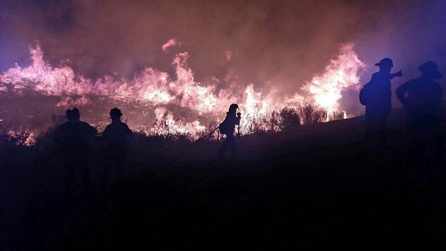El Infoca atendió 14 siniestros forestales más mientras actuaba en los de La Granada y Sierra Norte de Sevilla