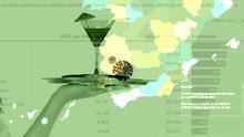 Hostelería, alojamientos y apuestas: los sectores más afectados por los ERTE