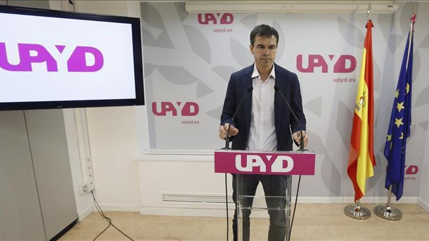 """Con el lema """"Más España"""" UPYD presenta la candidatura, que encabeza Herzoz"""