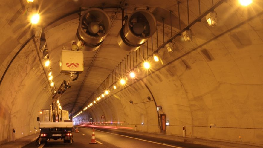 Bidegi somete a pruebas de máxima potencia a los 230 ventiladores de los túneles de la AP-1 y la AP-8