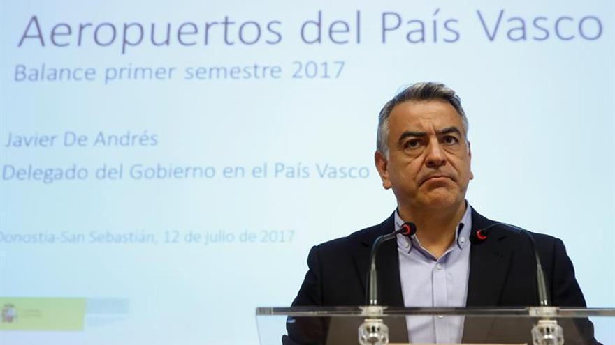 """El delegado en el País Vasco pide investigar el recibimiento a """"Pipe"""" en Bilbao"""