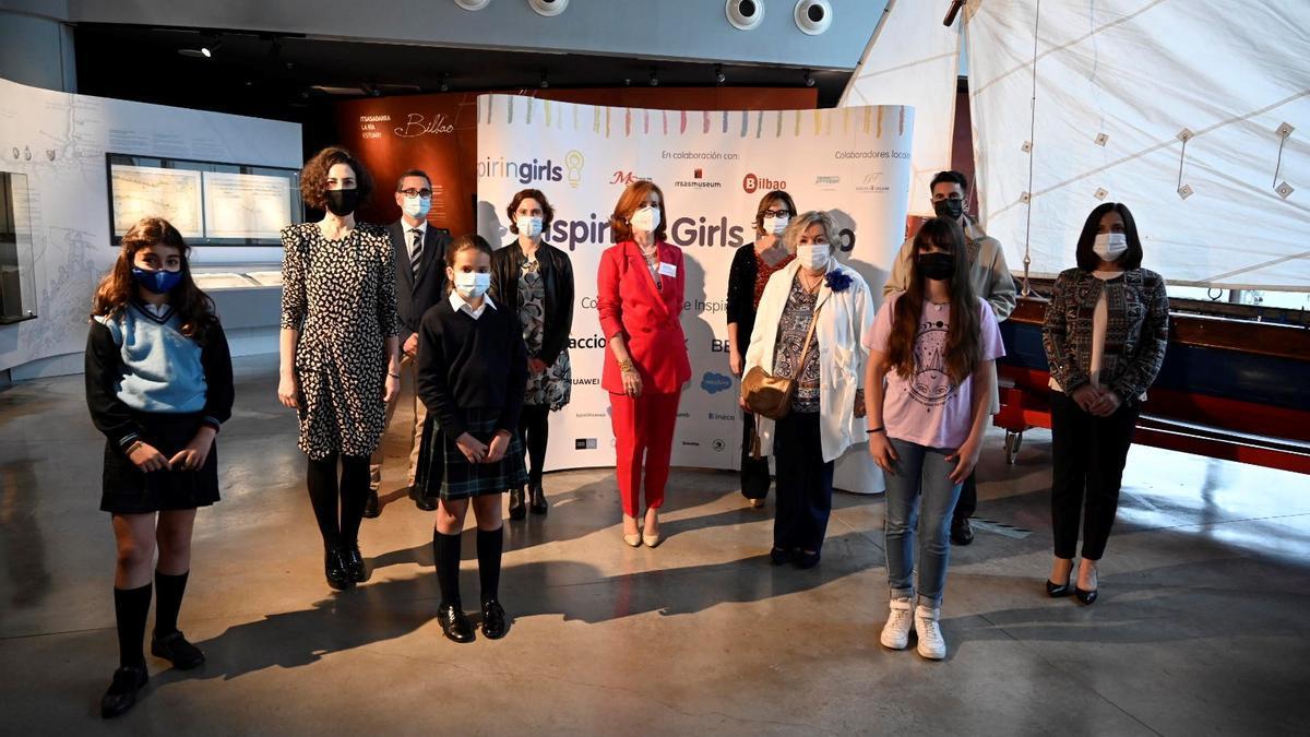 Participantes en el primer encuentro de Inspiring Girls en Bilbao
