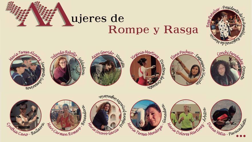 """""""Mujeres de rompe y rasga"""""""