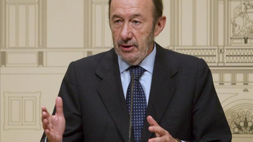 """Rubalcaba, en disposición de """"negociar y pactar"""" la renovación del CGPJ"""
