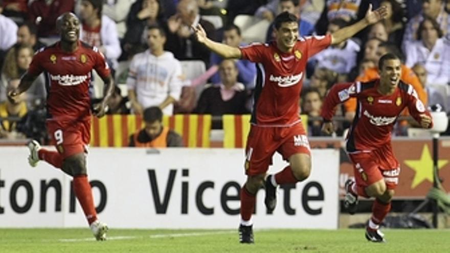 Mallorca contra el Valencia