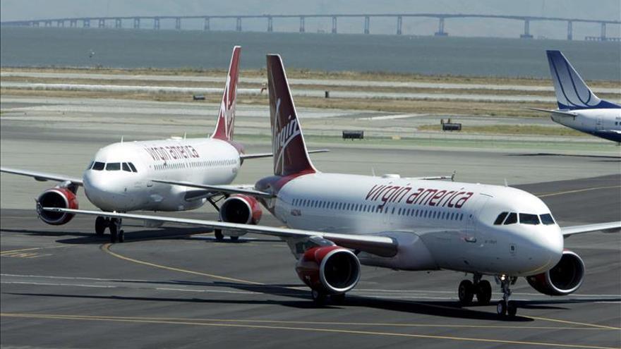 La aerolínea Virgin America debuta con fuerza en Wall Street y sube un 25 por ciento