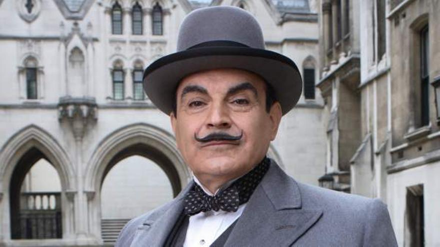 El detective Hércules Poirot ha sido llevado al cine y televisión en infinitas ocasiones