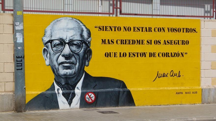 Mural del colegio público Max Aub de València