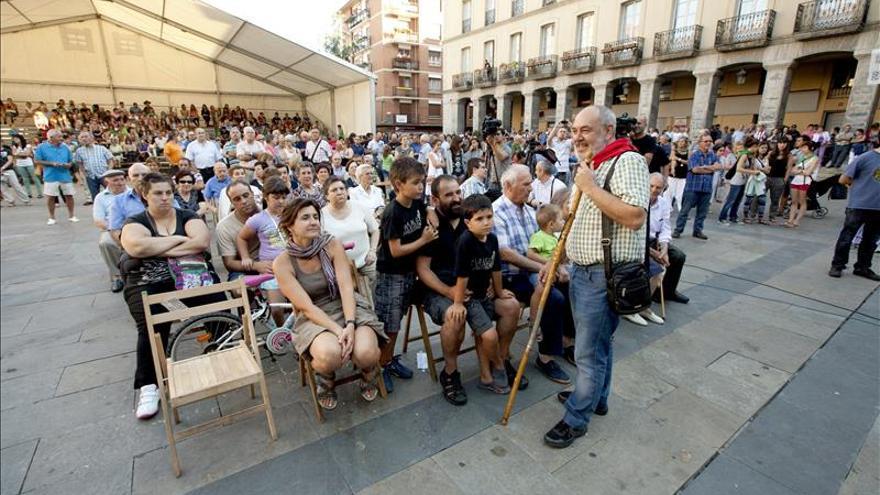 Condenado el alcalde de Llodio (Álava) por no izar la bandera española