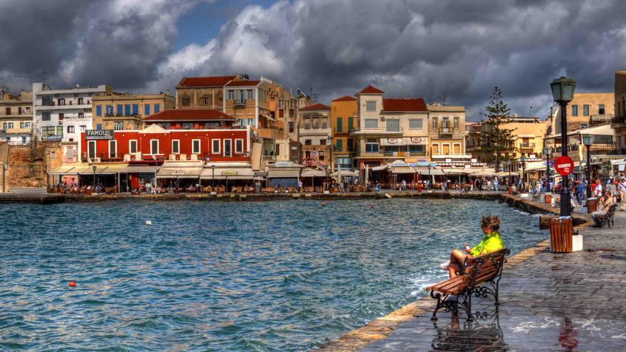 La Canea, Creta. Flickr.