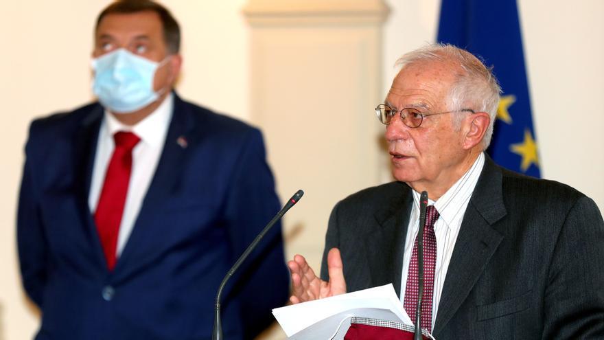 Borrell asegura en Sarajevo que el futuro de Bosnia está en la Unión Europea