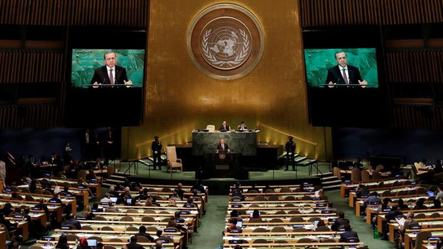 Erdogan dice que el grupo de Gülen amenaza a la mayoría de los países de la ONU