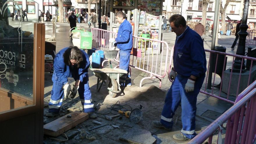 La cifra de negocios del sector de la construcción en Euskadi cae un 18,2% en 2013
