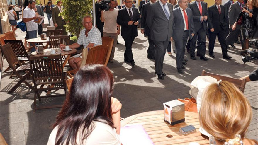 De la entrega del Premio Nacional de Comercio Interior a La Laguna #8