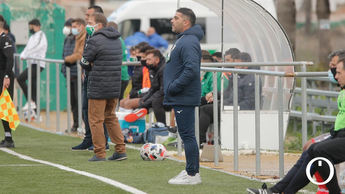 Emilio Fajardo, entrenador del Pozoblanco.