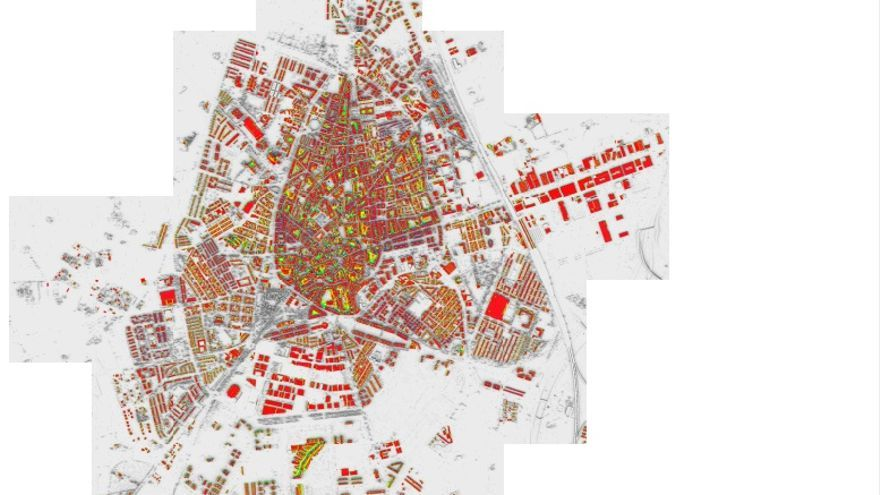 Mapa solar de Ciudad Real
