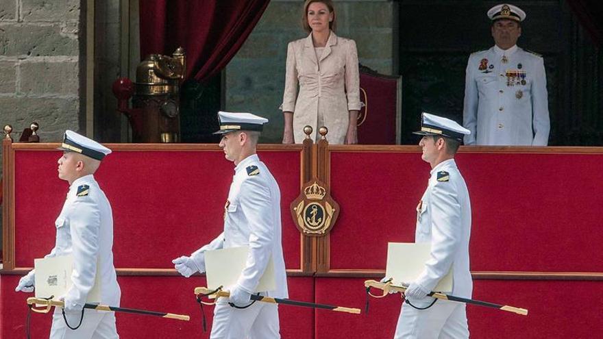 """Cospedal sitúa a la Armada como ejemplo """"de la unidad de España"""""""