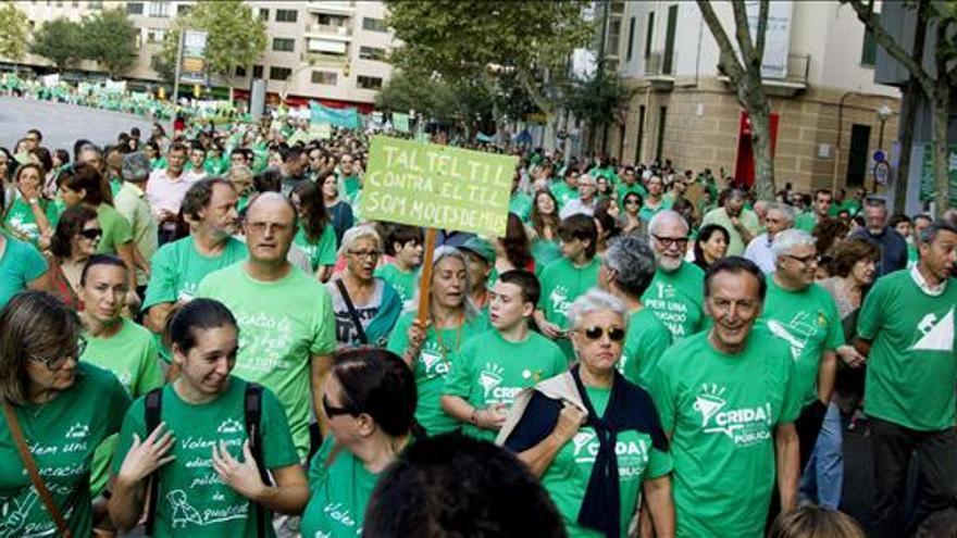 Los sindicatos llaman a la unidad de las movilizaciones en el Día de Docentes