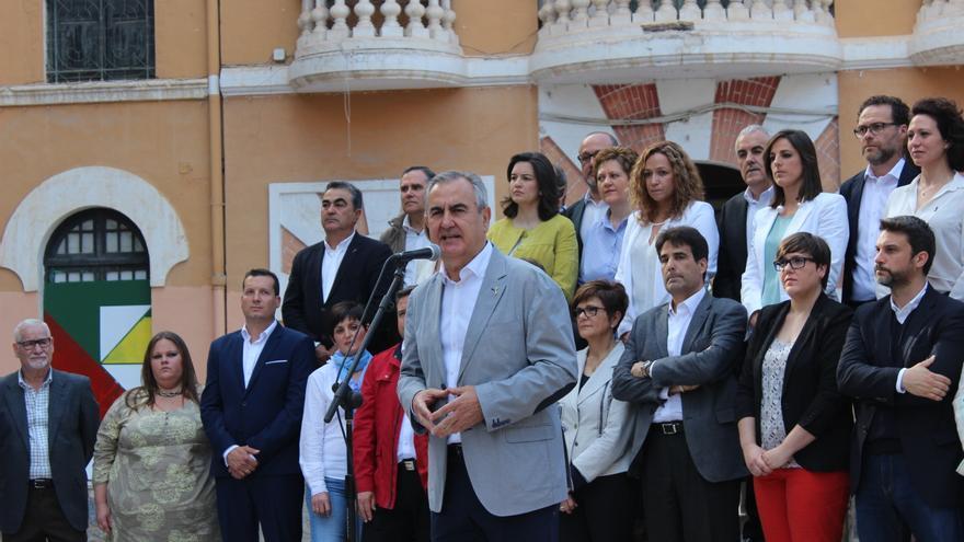 Rafael González Tovar ha presentado la lista del PSOE en el murciano barrio del Carmen / PSS