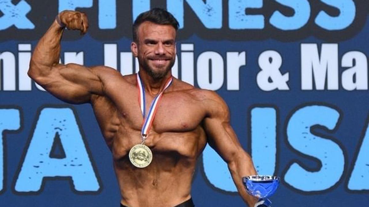 Manuel Luque tras proclamarse campeón de Europa
