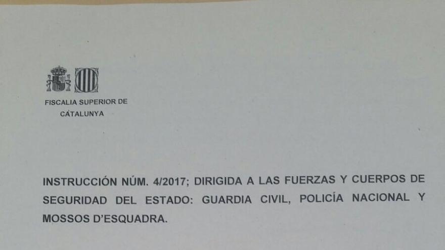 La Fiscalía faculta al mando de Interior para convocar a los cuerpos policiales cuando considere