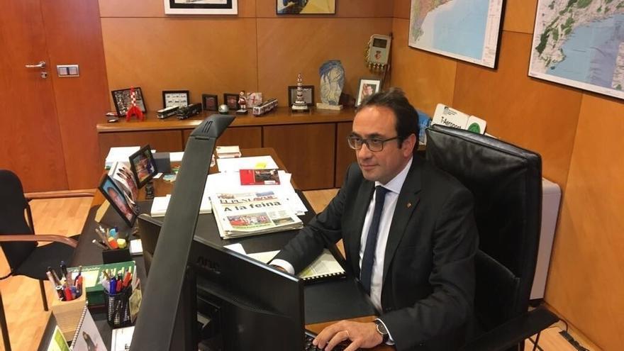 """Rull acude a su despacho en la Consejería de Territorio para """"ejercer sus responsabilidades"""""""
